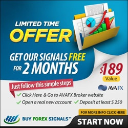 Open a new account with AVAFX, deposit $300, $600 or +$3000 and get our signals for FREE for 2 or 6 Months and even for Lifetime!  www.buyforexsignals.com