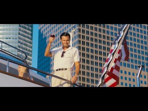 The Wolf of Wall Street stars Leonardo DiCaprio as a big-earning, hard-partying financial power player whose lust for cash leads to some less than legal activities.  Directed by Martin Scorsese, the movie also stars Jonah Hill, Matthew McConaughey, and Kyle Chandler.  It opens in November.