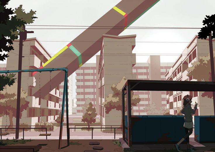 Apartment 2 by *Tomiokajiro on deviantART