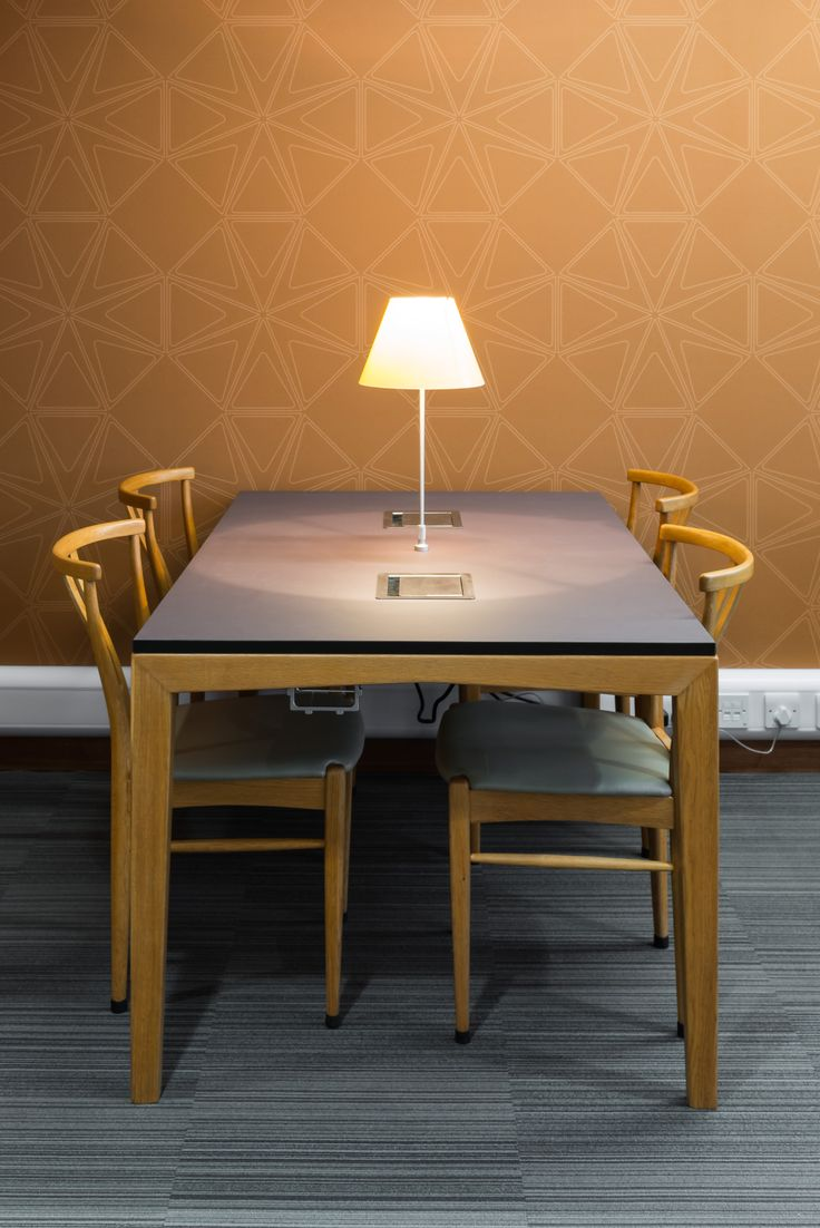 University of Reading - Library: Bespoke refubished existing tables.