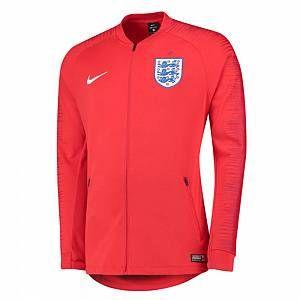 2018-2019 England Nike Anthem Jacket (Red)