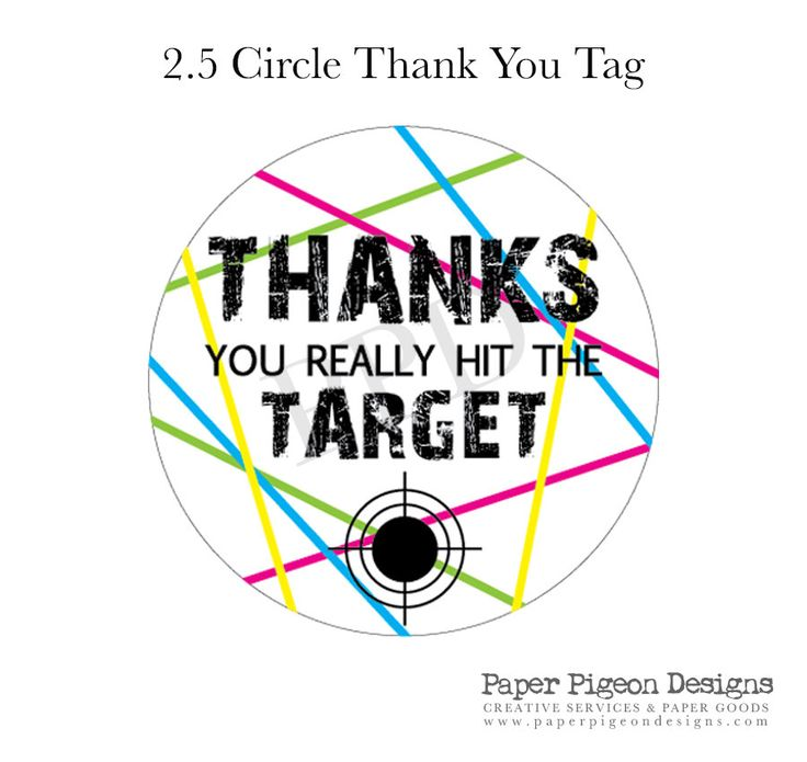 how to make thank you tags