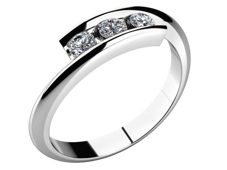 Zásnubní prsten - model LOVE 023