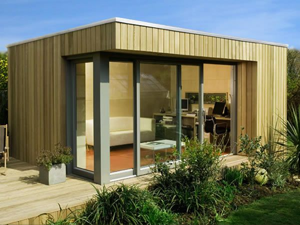 8 besten gartenhäuser bilder auf pinterest - Moderne Gartenhuser Zum Wohnen
