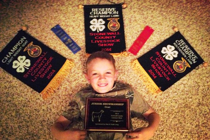 #4H #FFA ribbon photo idea....so proud of this little man