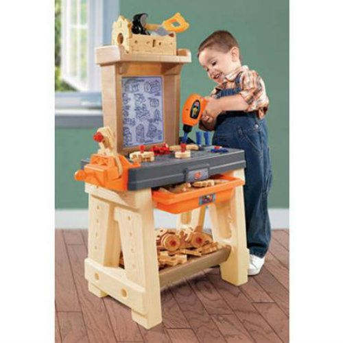 Kids Work Shop Bench Play Tools Set Toy Pretend Boys Child