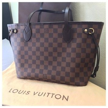 Louis Vuitton Neverfull Pm Damier Ebene Tote Bag. Get one of the hottest styles of the season! The Louis Vuitton Neverfull Pm Damier Ebene Tote Bag is a top 10 member favorite on Tradesy. Save on yours before they're sold out!