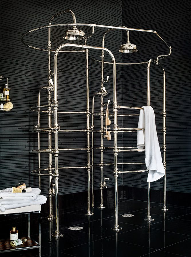 La cage d 39 amour by catchpole rye bathroom design Shower innovations
