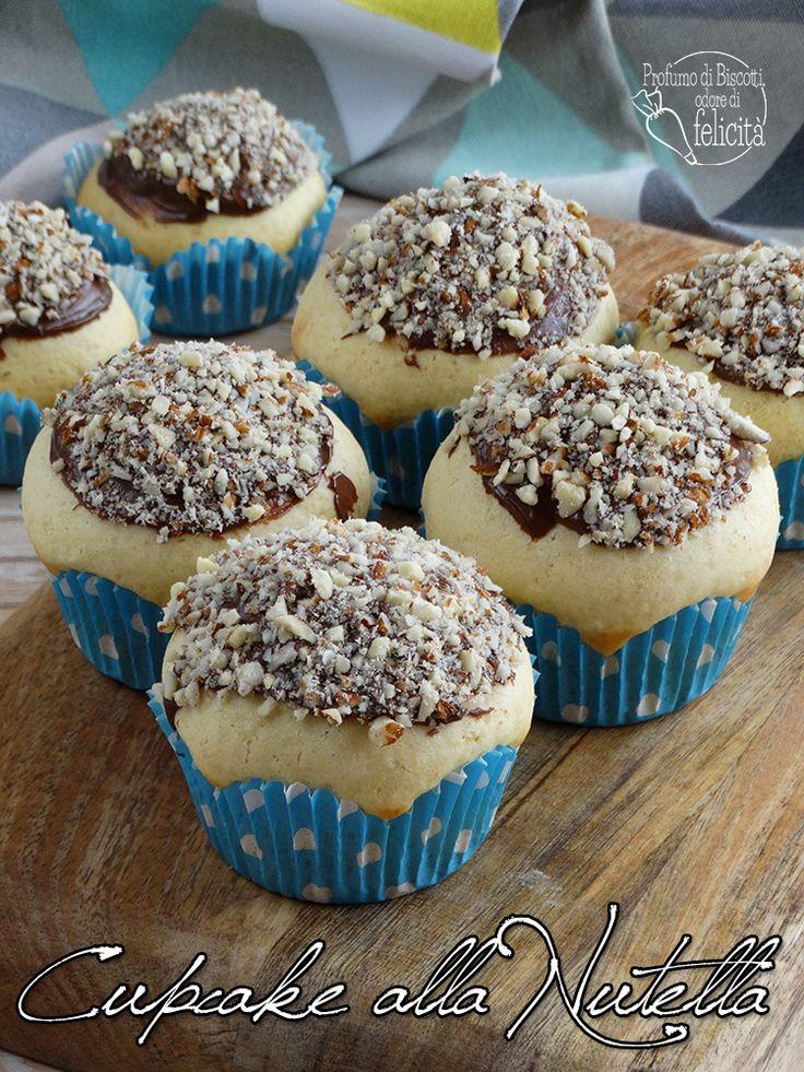 Cupcake alla Nutella • Profumo di biscotti, odore di