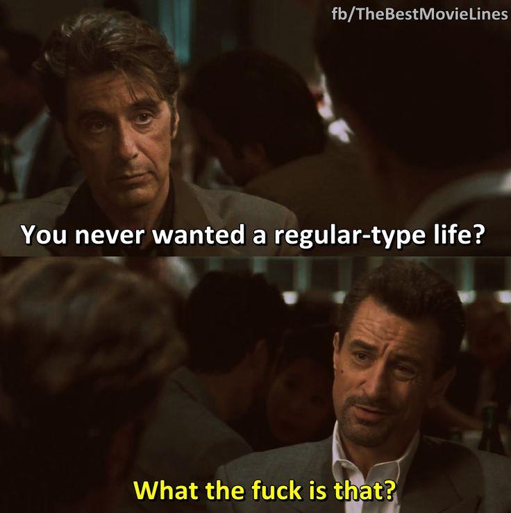 Al Pacino and Robert De Niro in Heat (1995) Dir. Michael Mann