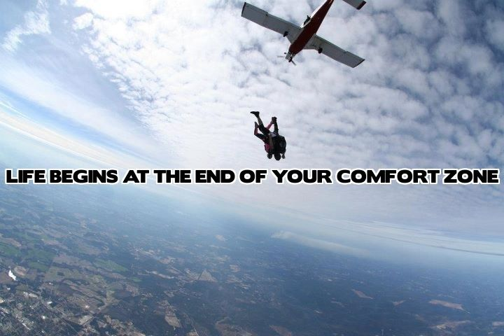 Skydiving! One of the most incredible experiences of my life.