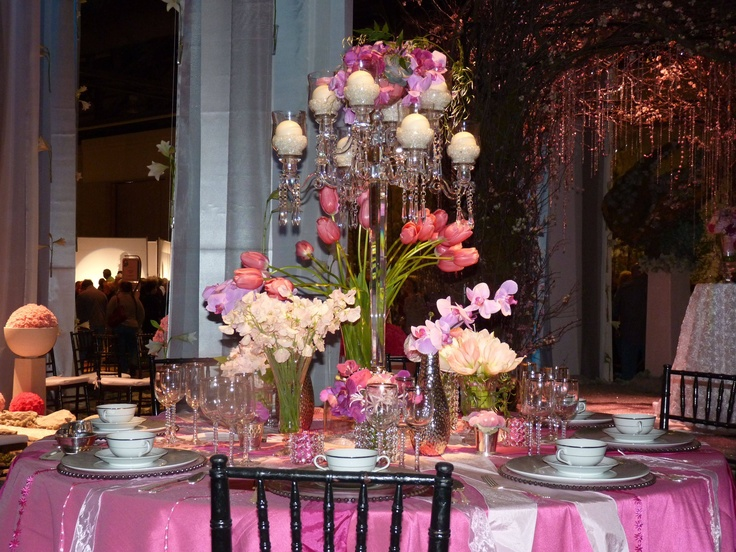 Ideas For Flower Centerpieces And Table Decorations