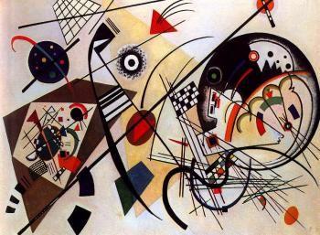Throughgoing Line - Wassily Kandinsky - The Athenaeum