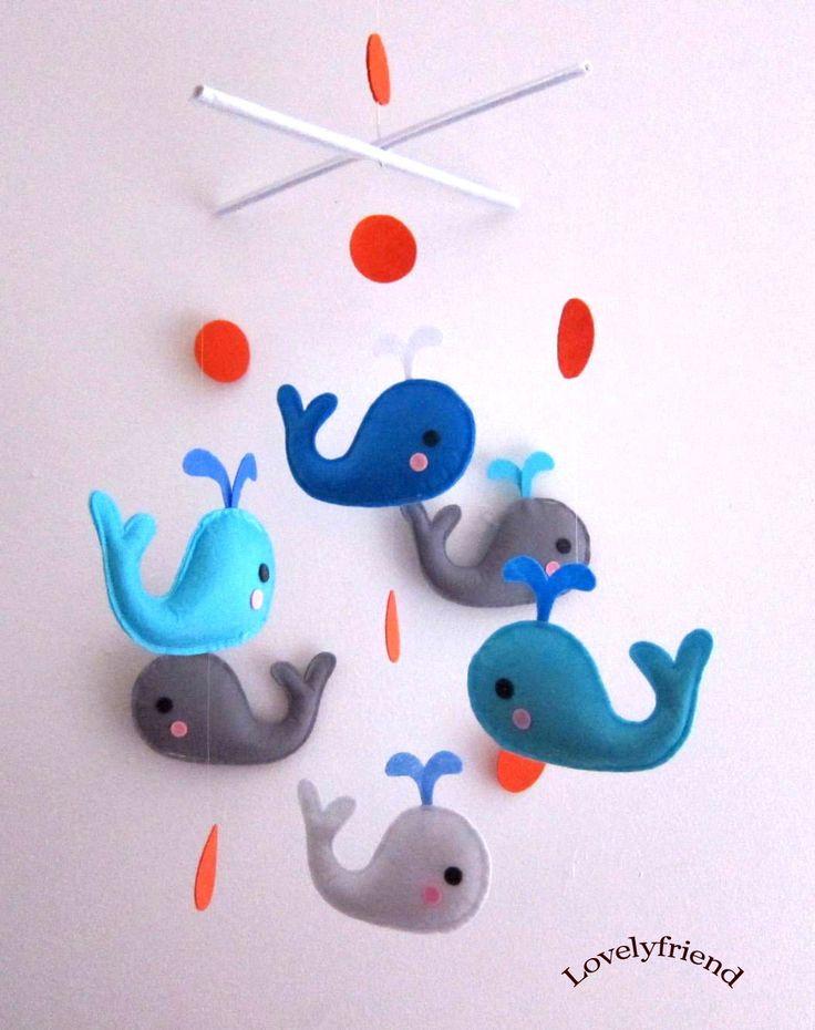 1000 ideas about mobile mobile on pinterest paper clouds felt mobile and felt - Designer babymobel ...