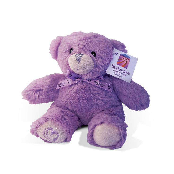 Bridestowe lavender estate. Established 1922.  Blossom Bear™ Plush Toy