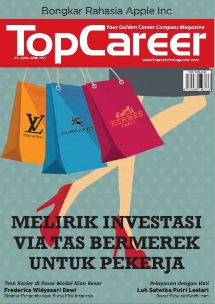 Cover Edisi 42 - Melirik Investasi Via Tas Bermerek Untuk Pekerja