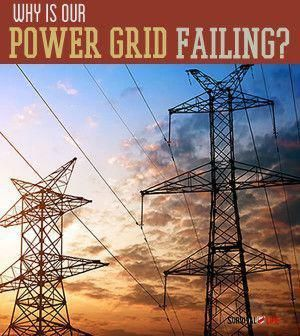 Why Is Our Power Grid Failing?  | Survival Prepping Ideas, Survival Gear, Skills…