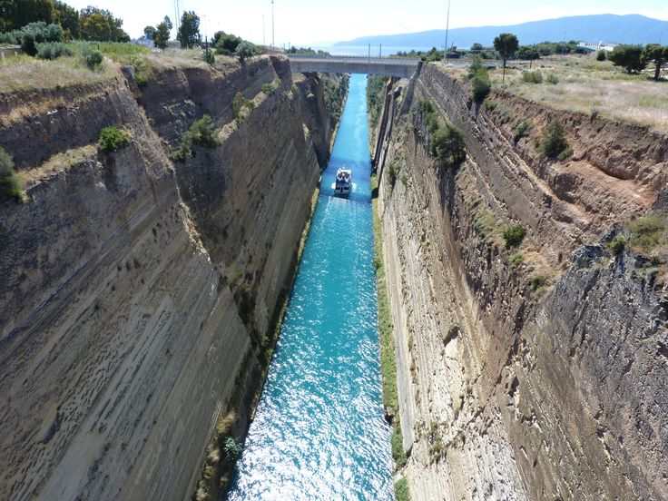 Corinthe Canal, Greece