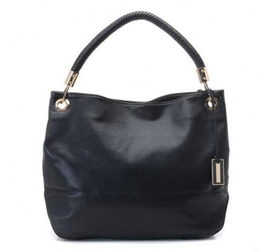 Michael Kors Collection Medium Black Shoulder Bags [mk_1620]