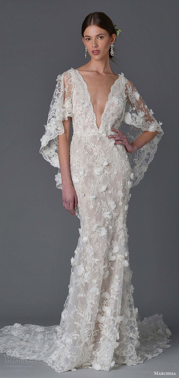 Wedding Dress Trends 2017 Part 1 The Hottest In Backs Necklines And Sleeves This Year