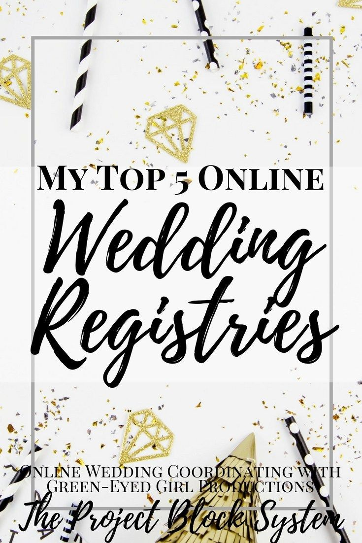 My Top Online Wedding Registries Target wedding registry