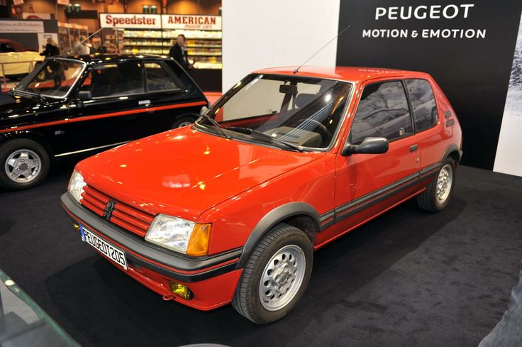 #Peugeot #205GTI #Peugeot205GTI #Peugeot205 #salon #retromobile #paris