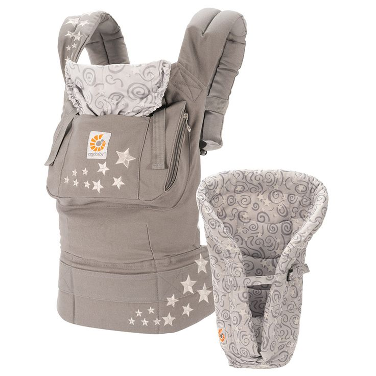 Ergobaby Babytrage- Set Original von Geburt an- Paket - Galaxy Grey #baby #geschenk #geburt #babyartikel.de