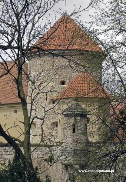 Baszta zamku - Pieskowa Skała