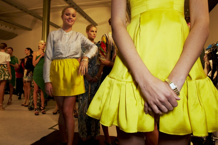 Backstage buzz with Citizen and Harper's Bazaar @30 Days of Fashion and Beauty
