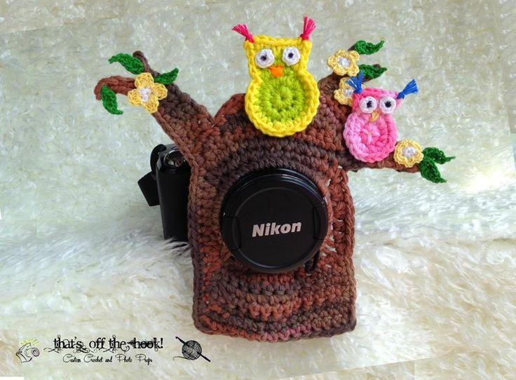 Crazy cool Owl's nest squeaky camera lens buddy! facebook.com/thatsoffthehook