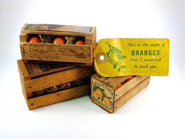 Miniature-orange-crates-2.jpg (597×448)