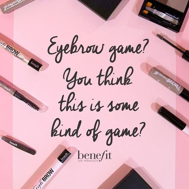236 best benefit knows brows images on pinterest
