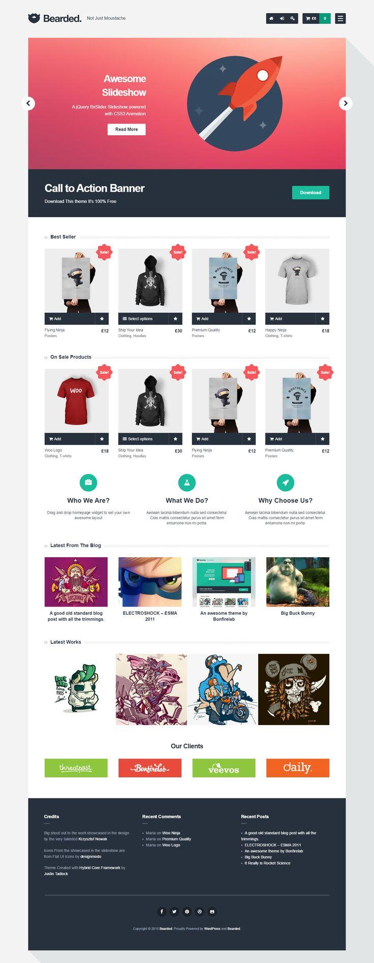 WordPress Responsive E-Commerce Themes