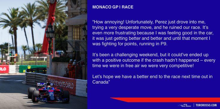 Monaco GP post-race summary💬 Race: P14 (DNF) ⏭ to 🇨🇦 #f1 #monacogp #kvyat /// Пора подвести итоги Гран При Монако💬 Гонка: 14-е место (сход) ⏭ to 🇨🇦 #формула1 #монако #квят