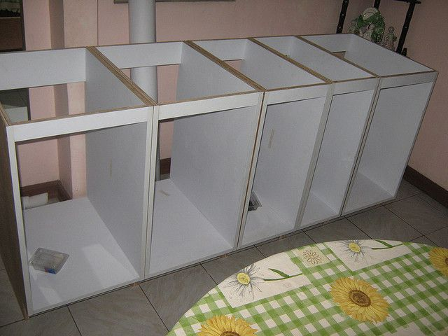 Kitchen cabinet base carcass modular kitchens for White kitchen carcasses