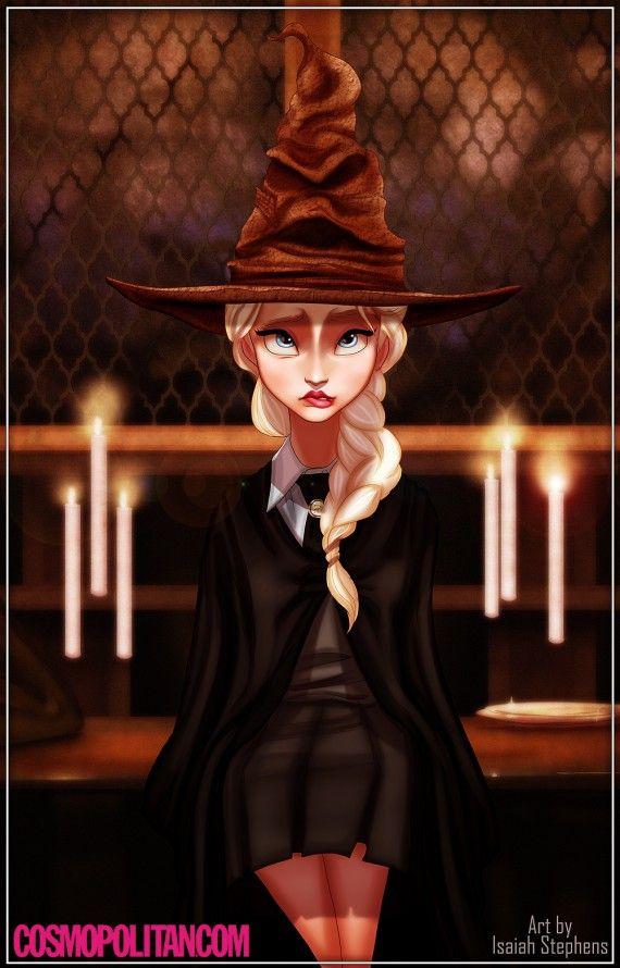 Harry Potter : si les personnages de Disney s'étaient inscrits à Poudlard 02