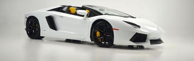 Cool Lamborghini 2017: 2016 Lamborghini Aventador LP 700-4 2016 Lamborghini Aventador LP 700-4 Roadster Bianco Isis / Nero Giallo 2 -tone