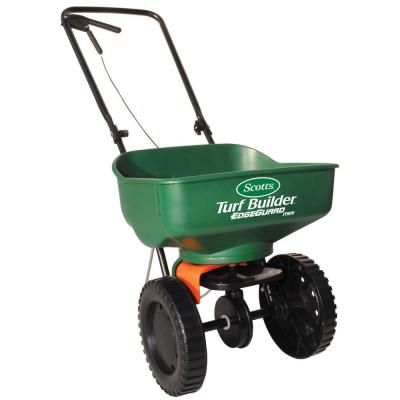Best Lawn Fertilizer For Your Yard The Home Depot Turf Builder Scotts Grass Seed Lawn Spreaders