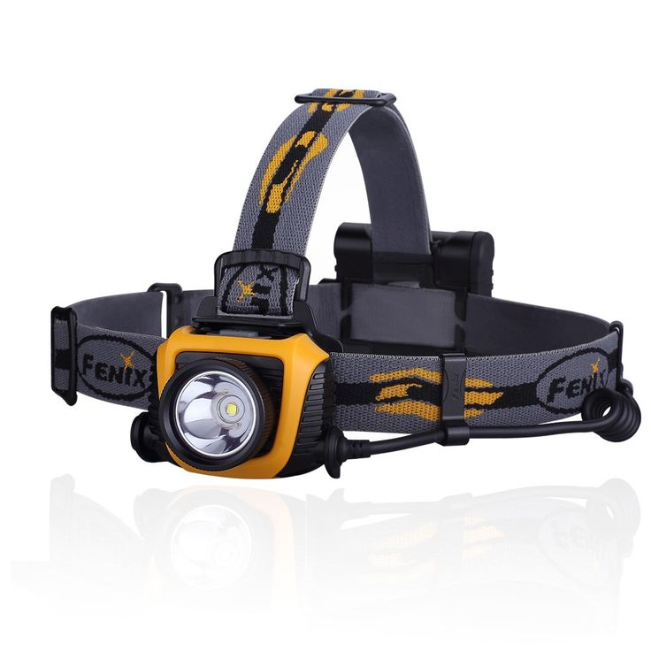 Fenix HP15 |  LED Head Torch | 500 Lumen | 170 Metre Beam throw | Runs on 4 x AA batteries (Alkaline of Rechargeable NiMH) | Leaves your hands free for work or leisure