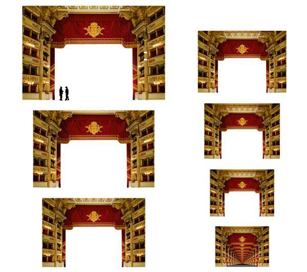 39 best teatres scenografies theatres stage designs for Riproduzioni design