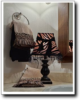 Moore Galore creates luxuriously tailored custom accessories for your bath.
