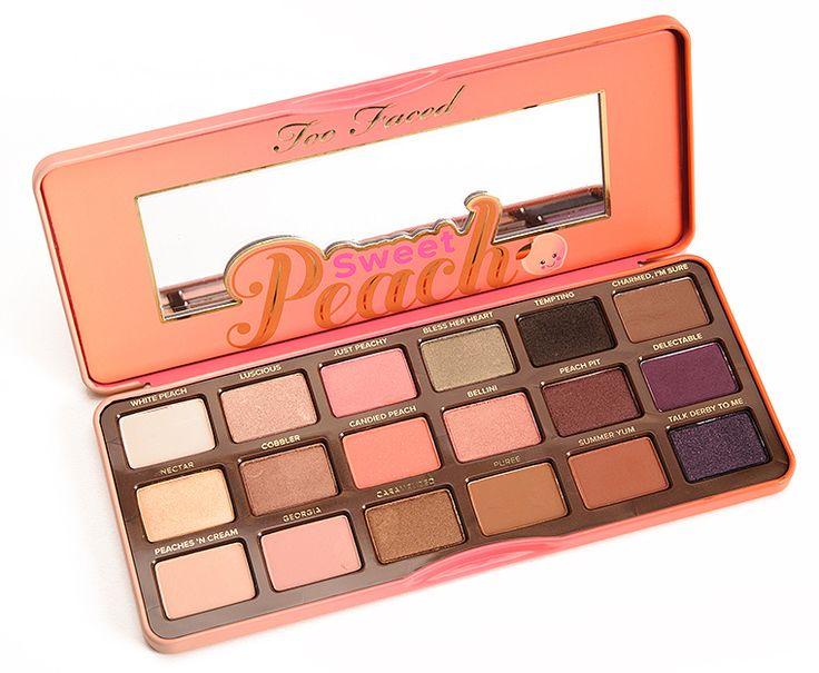 Sneak Peek: Too Faced Sweet Peach Eyeshadow Palette Photos & Swatches