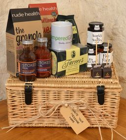 Wow, we would love to wake up to this every morning...'The Big Breakfast Hamper'.