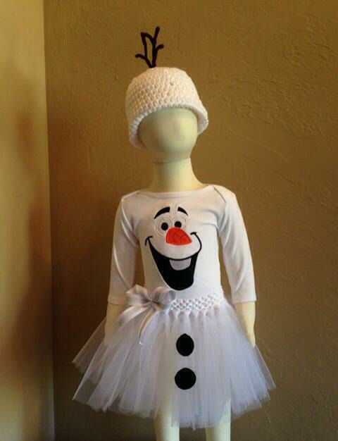 Olaf tulle Halloween Costume olaf costume by LolliePopsBoutique
