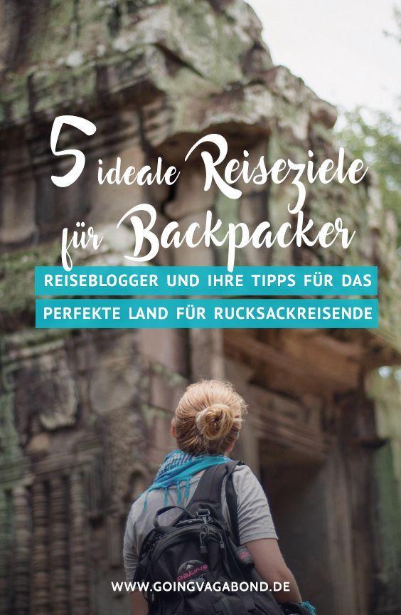 In diesem Blogpost verraten 5 Reiseblogger die besten Backpacking Länder und ihre persönlichen Reisetipps, von Thailand bis nach Lateinamerika.