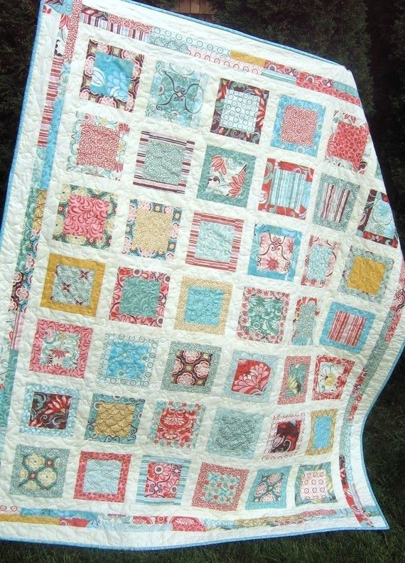 Quilt Patternone Layer Cake Or Fat Quarters Around By