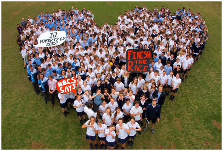 Northern Beaches Christian School - At the beginning of this term, a passionate group of high school students launched the NBCS Social Justice Team. Their focus for the term has been raising awareness of global poverty. Inspired by the work of the Micah Challenge, on Monday last week the team organised a 'Finish The Race' event.