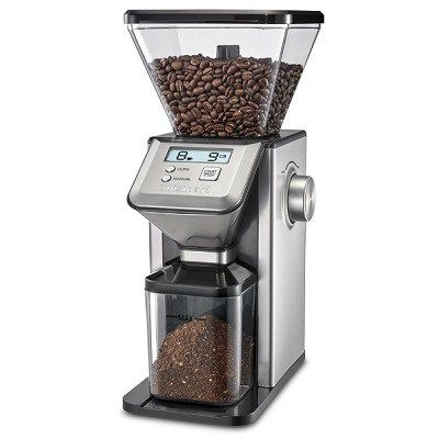 The Conical Burr Coffee Bean Grinder - premium coffee grinder that uses conical burrs rather than blades to preserve the taste and aroma of coffee