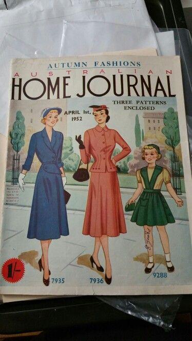 Australian home journal April 1952 cover
