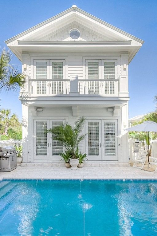 My dream beach house, with backside view of the ocean!